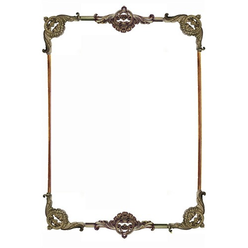 Georgian Double Headpiece Wall Panel Set