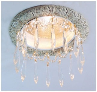 6″ French Provincial Recessed Light Chandelier #RC-106-3ClearU