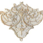ceiling corner Louis XV in Stone Gold Finish