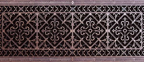 Arts and Crafts Radiator Cover Grille #RCG-209-12×36