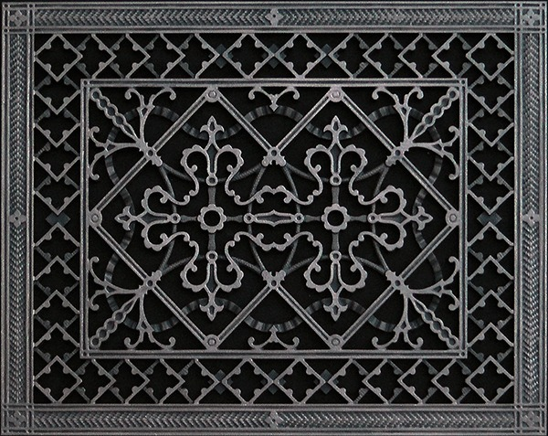 Decorative Return Air Filter Grille Beaux Arts Classic