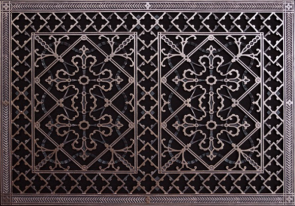 Decorative Grille 20x30 Arts And Crafts Style Beaux Arts