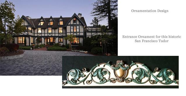 Ornamentation Design Tudor Entrance Ornament
