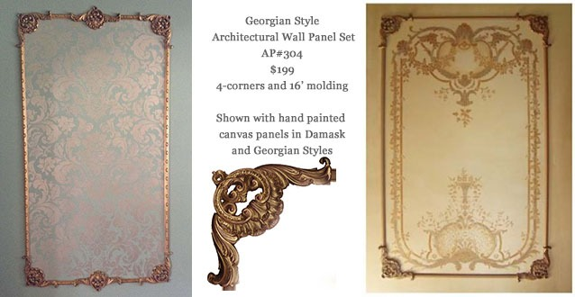 Georgian Style wall panels