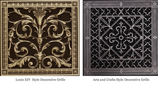 Decorative Vent Covers Beaux Arts Classic Products