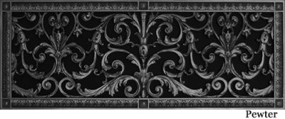 Louis XIV Radiator Cover Grille #RCG-203-08×24