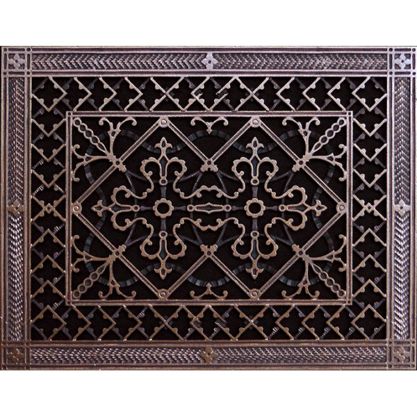 Arts and Crafts Grille #FGR-209-12×16