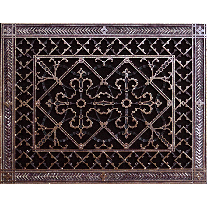 "Arts and Crafts grille 12"" x 16"" in Rubbed Bronze"
