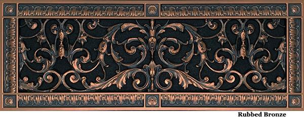 Louis XIV Style Grille #RR-203-06x20