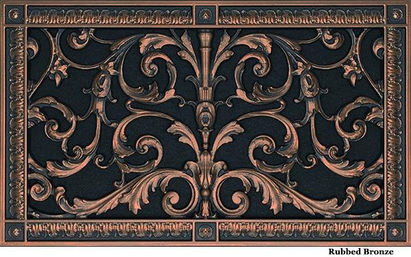 Louis XIV Style Grille #RR-203-10×18