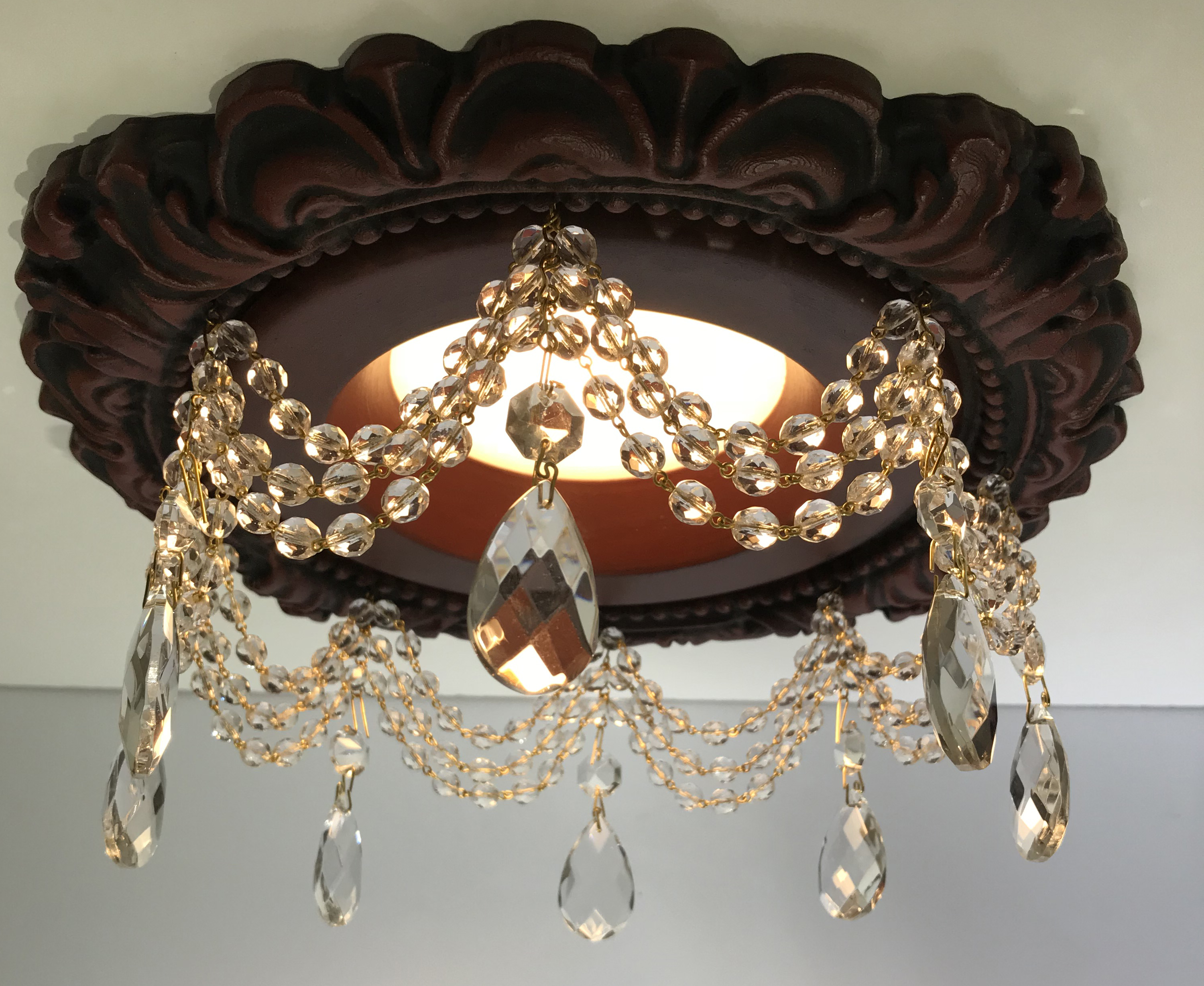 "Recessed Chandelier for 5"" and 6"" Halo and Juno recessed light canisters"