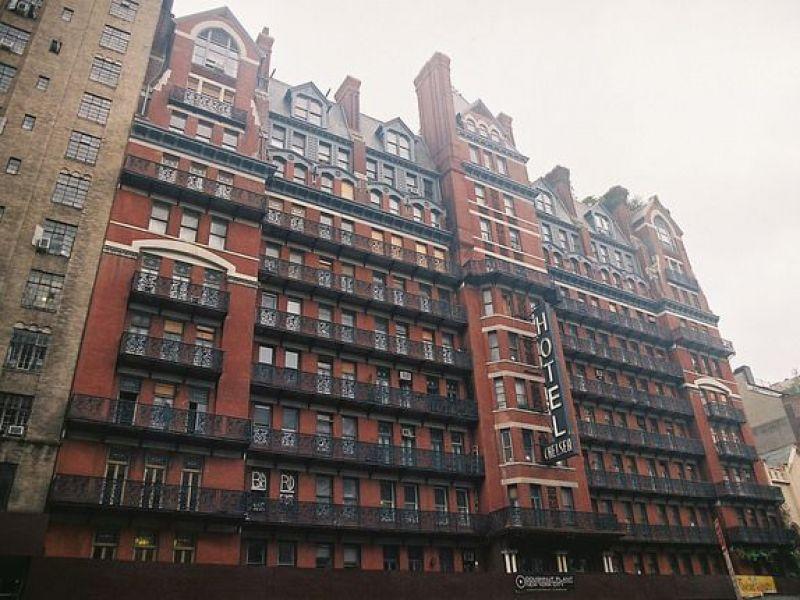 Chelsea Hotel New York City Exterior