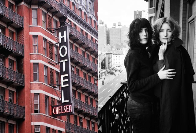 Chelsea Hotel Patti Smith and ViVa