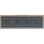 "Vent Cover in Arts and Crafts Style 10"" x 36"" in Rubbed Bronze Finish"