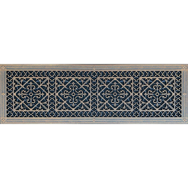 """Decorative Vent Cover Craftsman Style Arts and Crafts Grille Covers Duct 10""""×36"""""""