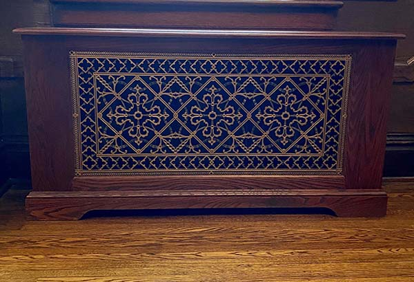 Arts and Crafts Radiator Cover Grille 16' x 36