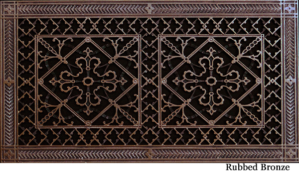 """Arts and Crafts 10"""" x 20"""" Filter Grille"""