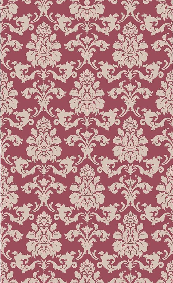 "Repositionable wallpaper 38"" x 62"" raspberry background"