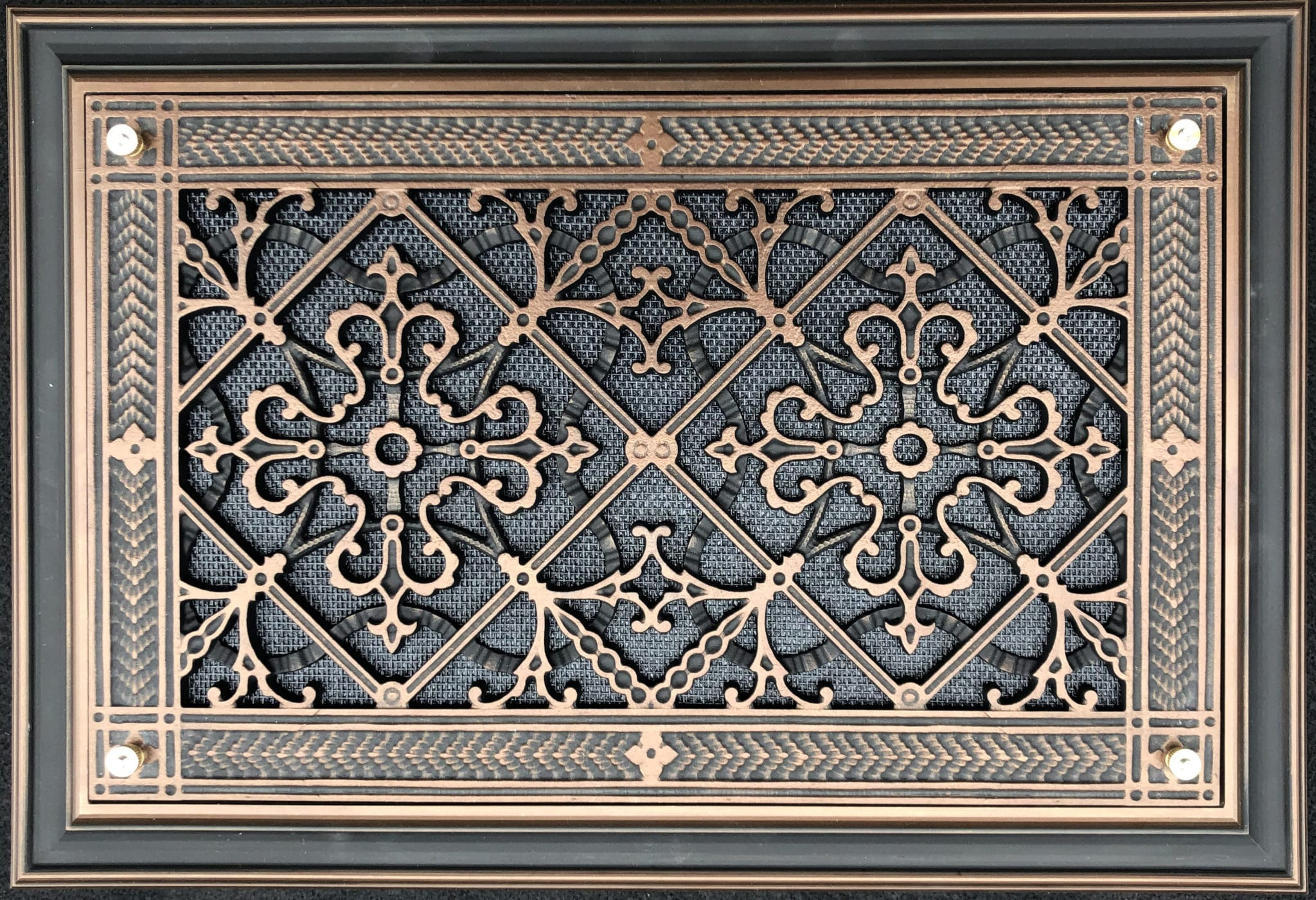 Foundation Vent Cover in Craftsman Style Arts and Crafts